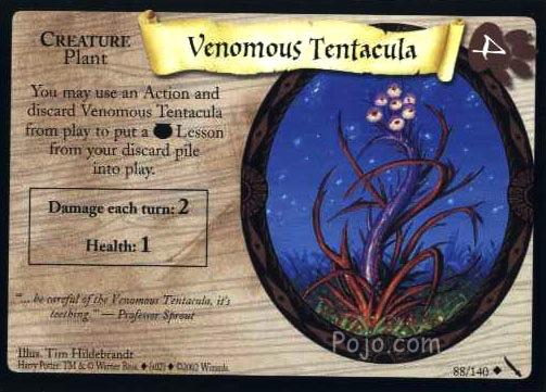 VenomousTentacula-HPTradingCard